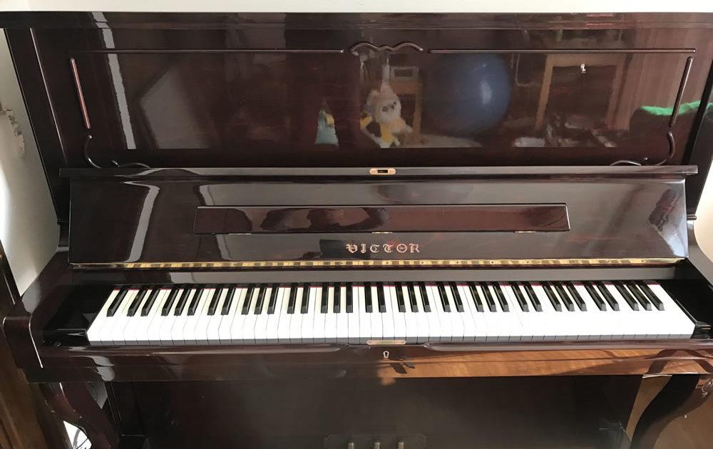 平塚で珍しいビクターピアノの調律(ピアノ調律・修理)イメージ